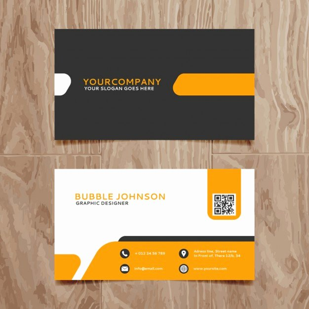 Simple Business Card Design Luxury Modern Simple Business Card Template Vector