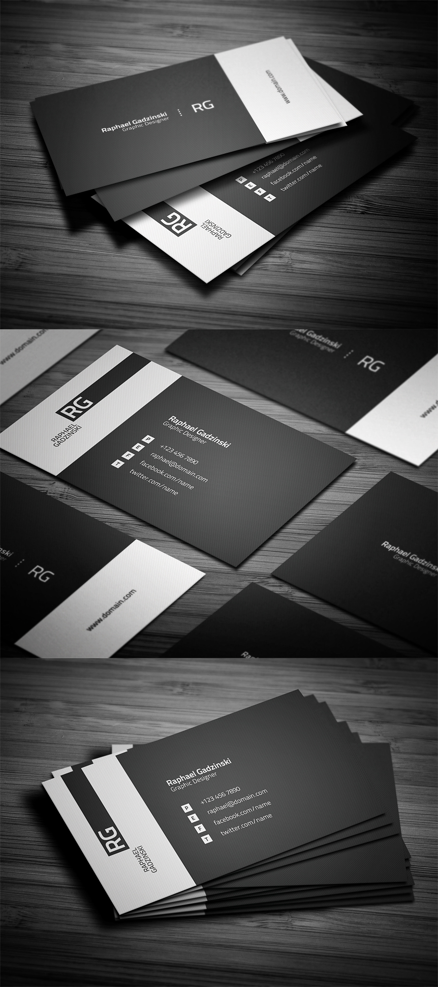 Simple Business Card Design Luxury Simple V2 Business Card by Flowpixel On Deviantart