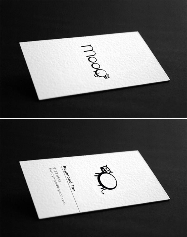 Simple Business Card Design Unique 20 Minimalistic Business Card Designs for Your Inspiration