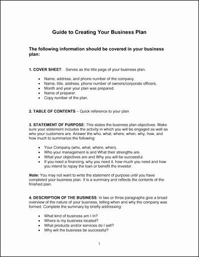 Simple Business Plan Outline Elegant Simple Business Plan