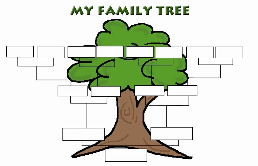 Simple Family Tree Template Best Of Simple Family Tree Template Clipart Best