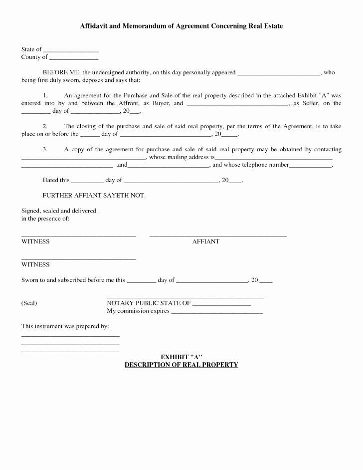 Simple Home Purchase Agreement Elegant 30 Simple Real Estate Contract