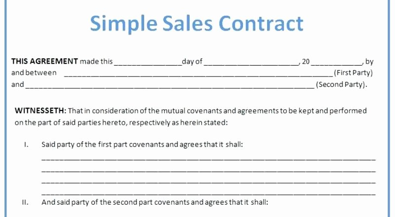 Simple Home Purchase Agreement New Mobile Home Purchase Agreement