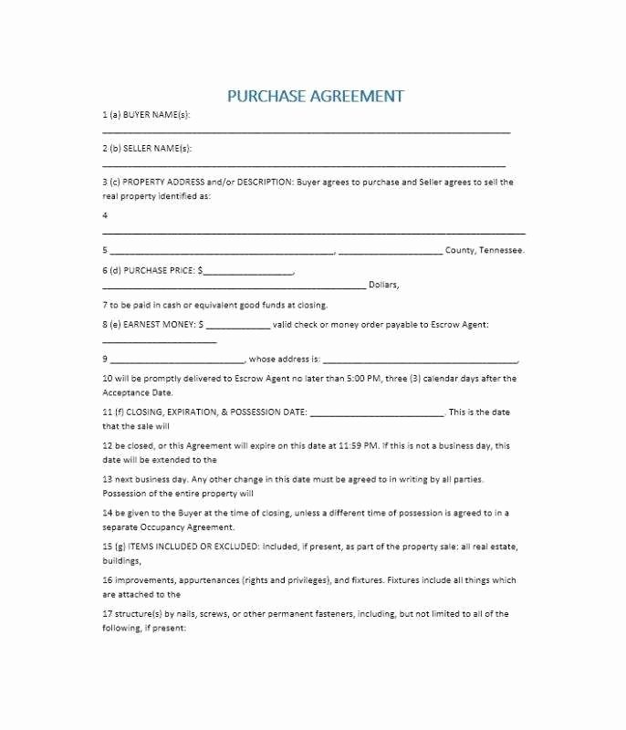 Simple Home Purchase Agreement New Simple Real Estate Purchase Agreement Pdf Special Simple