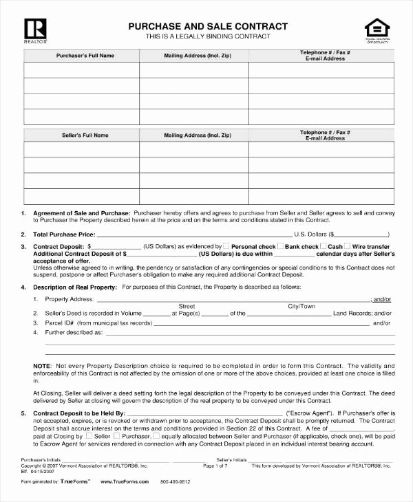 Simple Land Purchase Agreement form Awesome 6 Property Purchase Contract Templates Pdf Google Docs
