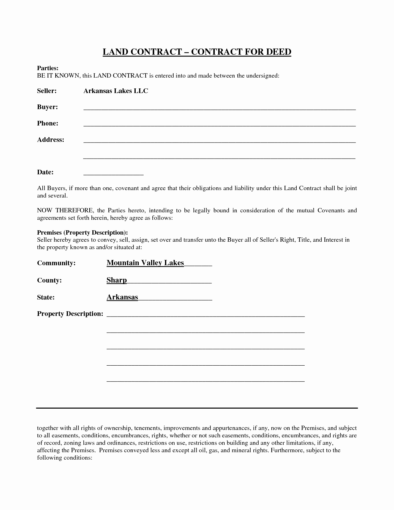 Simple Land Purchase Agreement form Elegant 38 Brilliant Samples Blank Contract forms Thogati