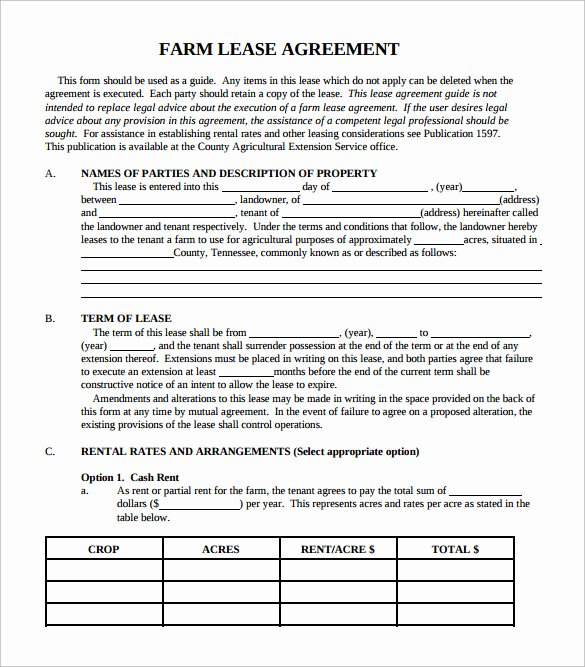Simple Lease Agreement Pdf Lovely Simple Lease Agreement 7 Download Free Documents In Pdf