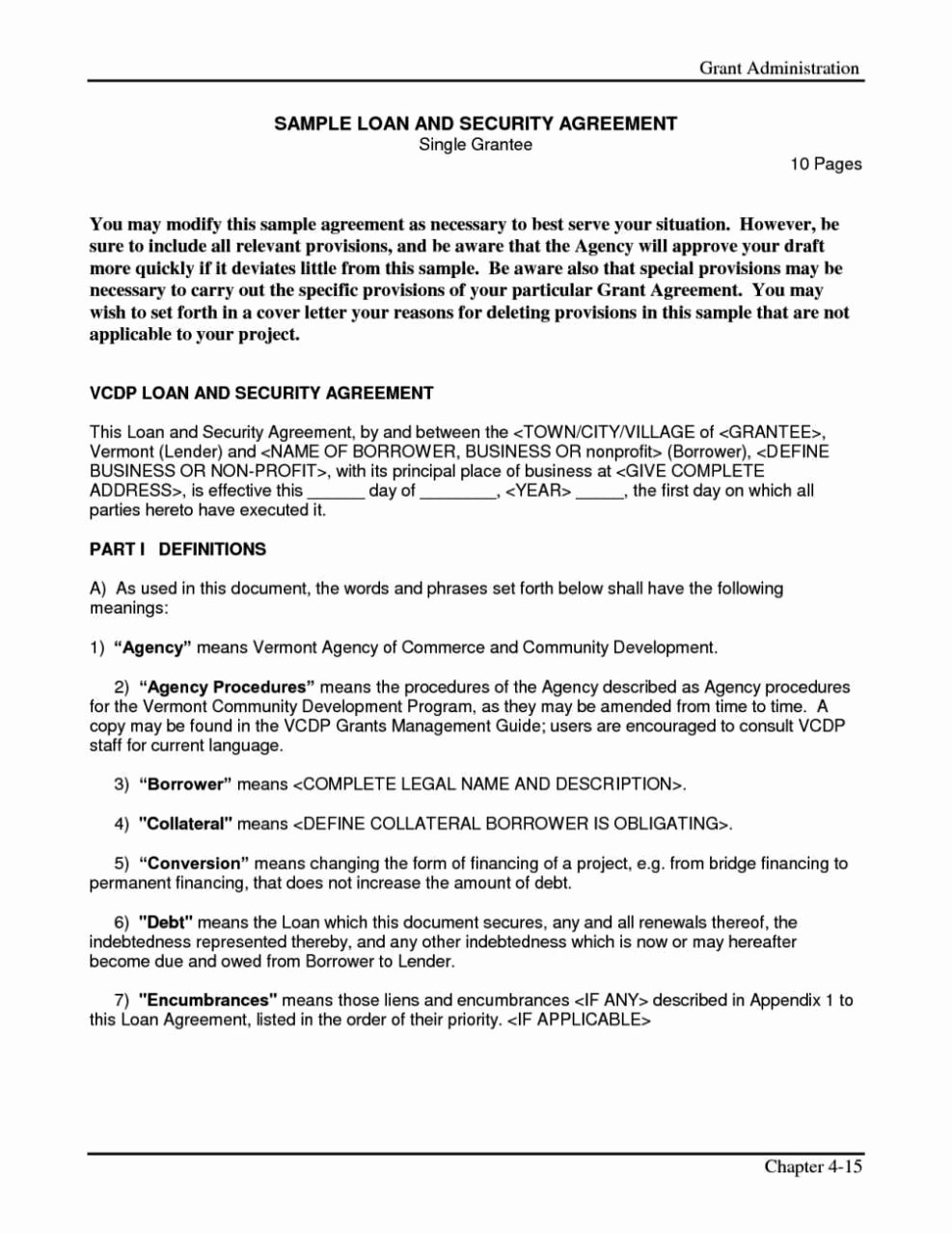 Simple Loan Agreement Pdf Beautiful Simple Interest Loan Agreement Template Sampletemplatess