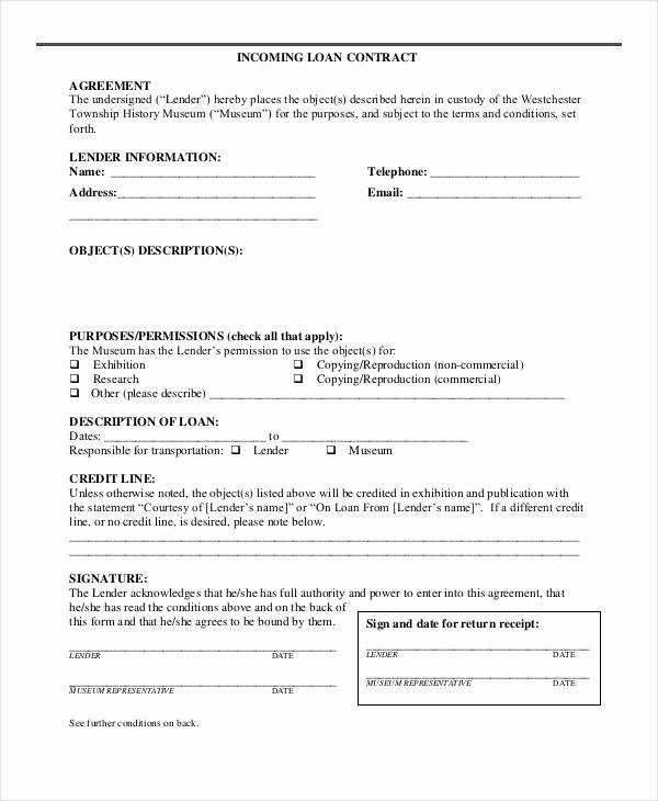 Simple Loan Agreement Pdf Best Of Free 35 Loan Agreement forms