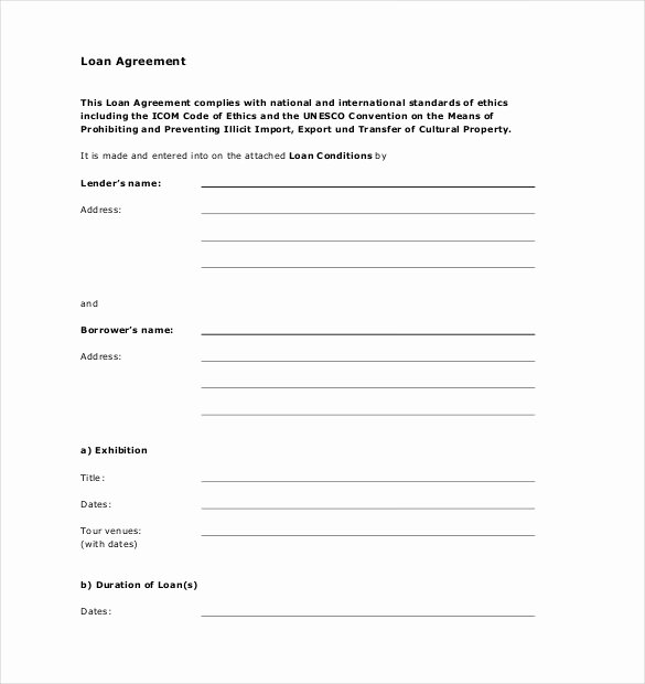Simple Loan Agreement Pdf Elegant 16 Loan Agreement Templates Word Pdf