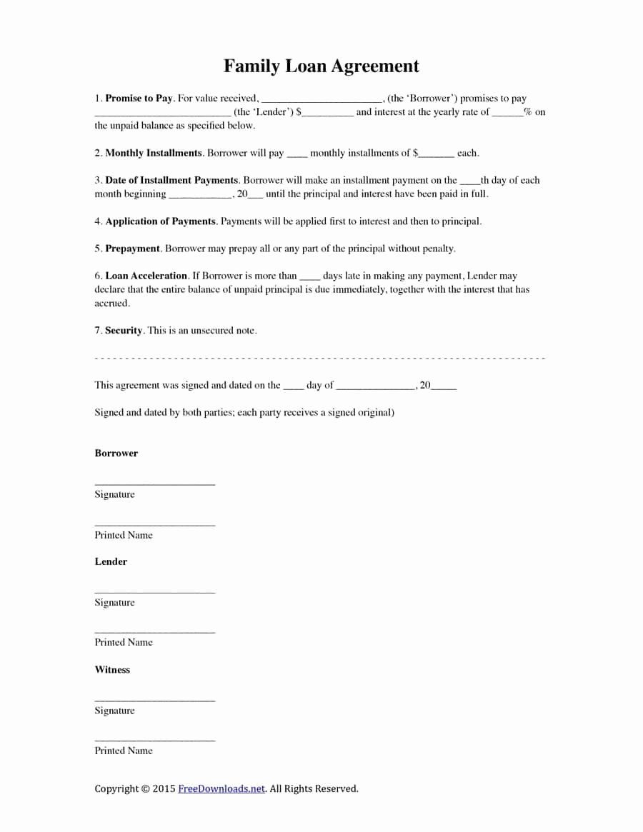 Simple Loan Agreement Pdf Fresh Simple Settlement Agreement