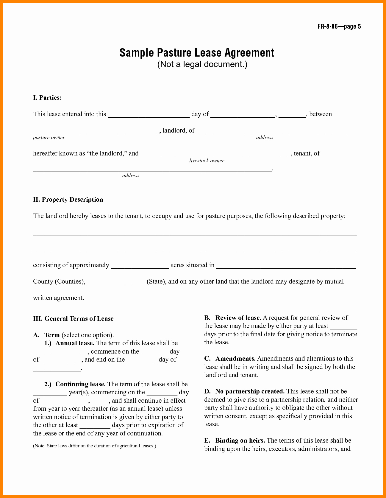Simple Rental Agreement Pdf Luxury 5 Simple Rental Agreement form