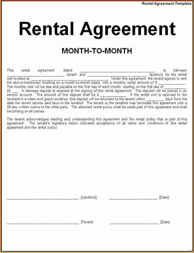 Simple Rental Agreement Pdf Unique Simple Rental Agreement Pdf Excellent Simple E Page
