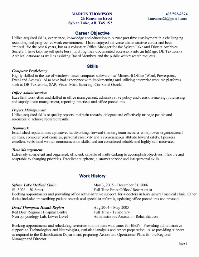 Skills Based Resume Template Free Fresh Skill Based Resume Marion
