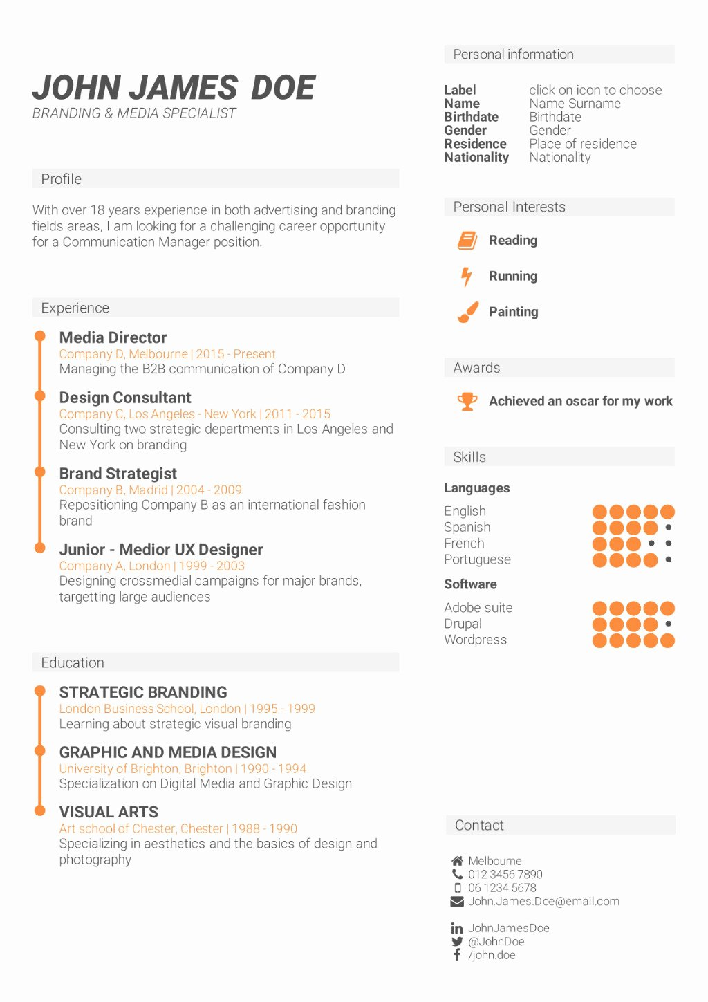 Skills Based Resume Template Free Fresh What is the Best Cv format How to Write A Cv