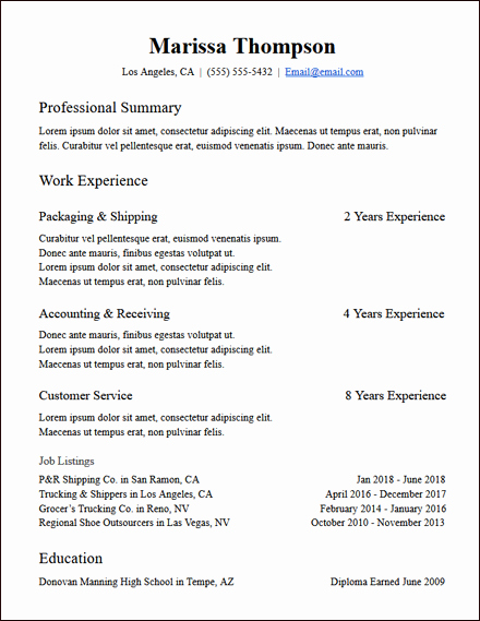 Skills Based Resume Template Free New Skills Based Resume Templates Free to Download