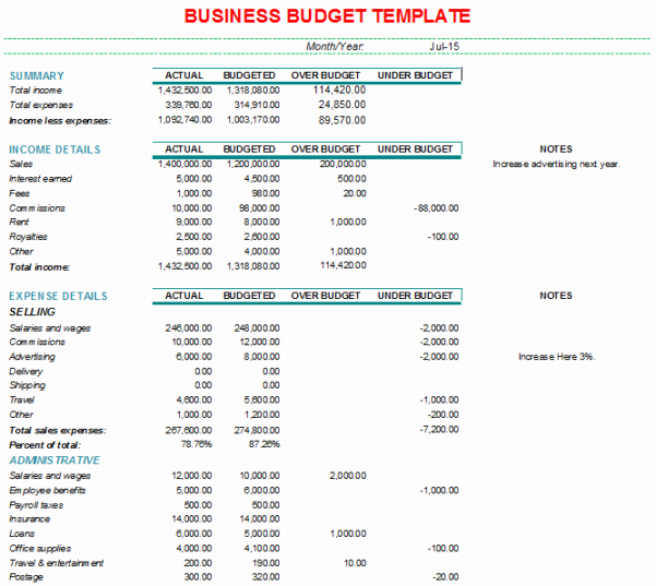 Small Business Budget Template Beautiful Business Bud Spreadsheet Template Bud Spreadsheet