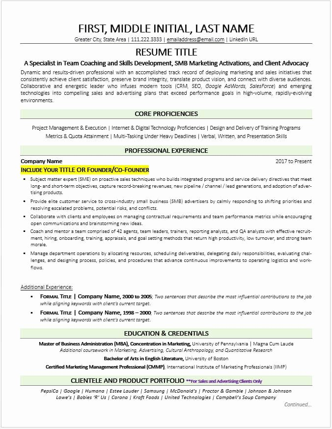 Small Business Owner Resume Best Of former Business Owner Resume Example and Tips Updated 2019
