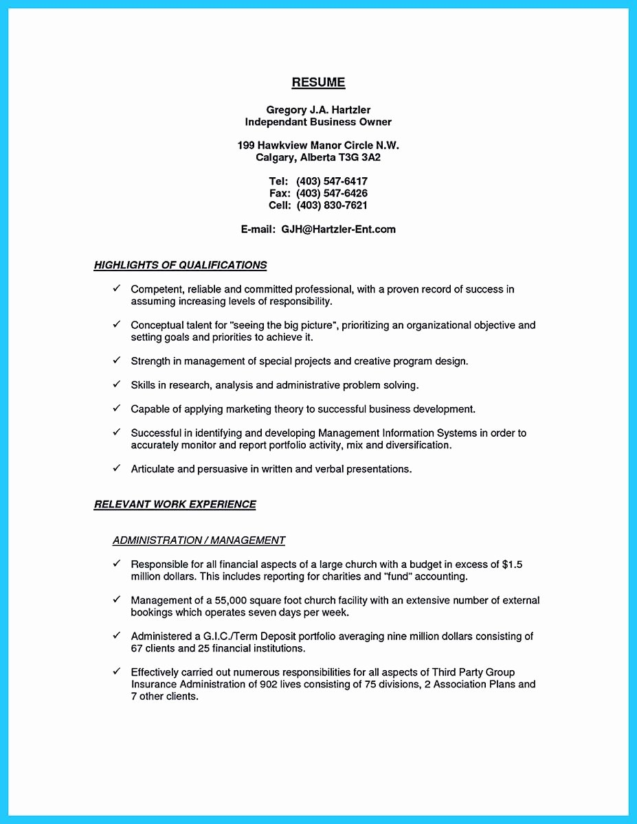 Small Business Owner Resume Inspirational Outstanding Keys to Make Most attractive Business Owner Resume