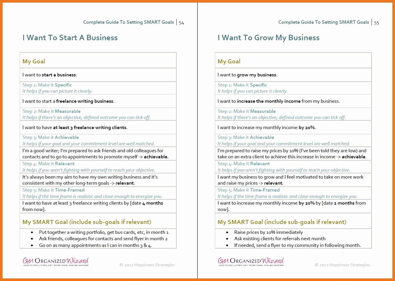 Smart Goals Examples for Work Inspirational 10 11 Smart Goals Examples for Work