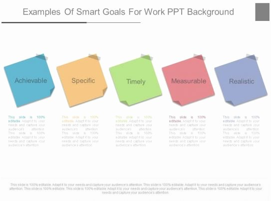 Smart Goals Examples for Work Inspirational New Examples Smart Goals for Work Ppt Background