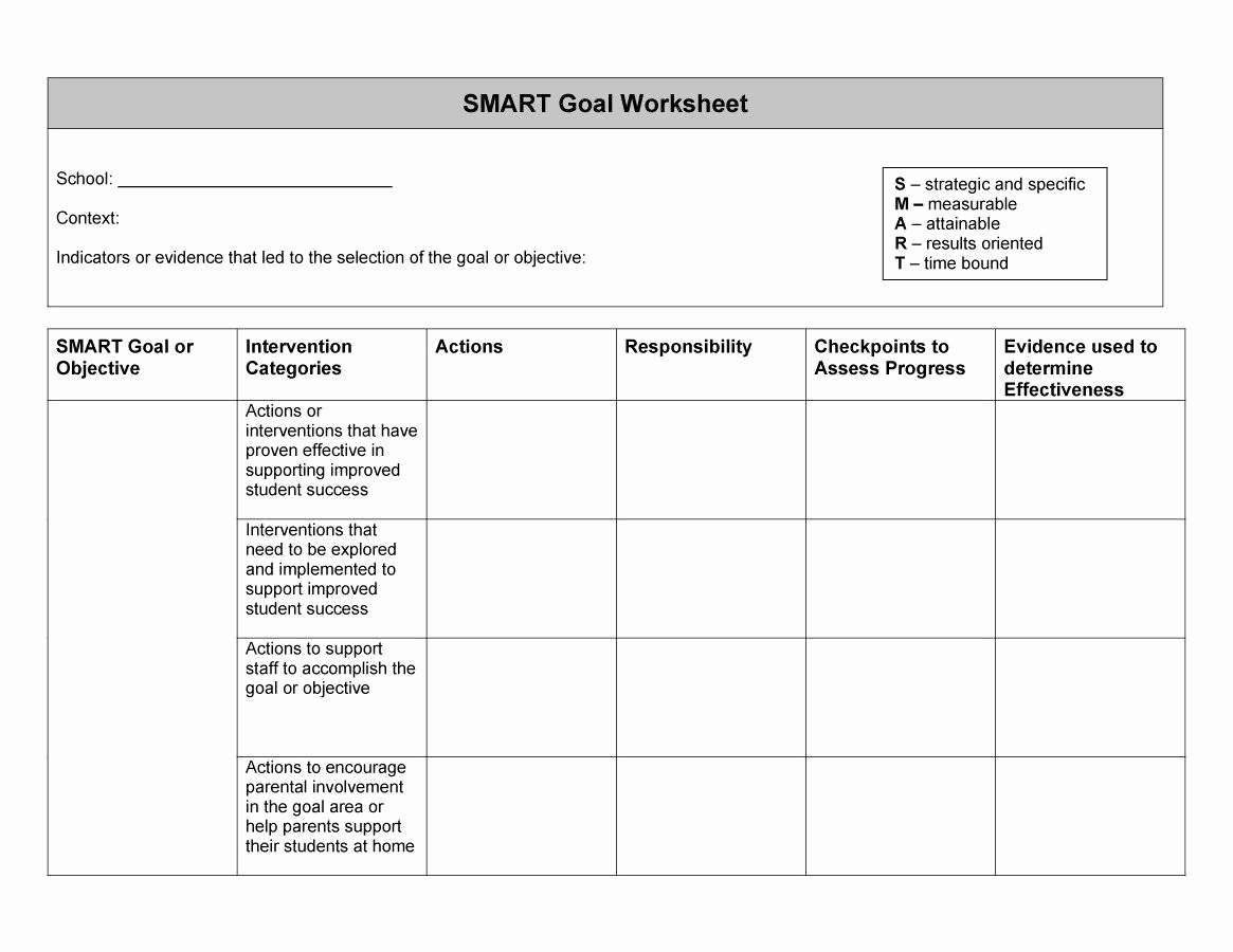 Smart Goals Examples for Work Lovely 48 Smart Goals Templates Examples & Worksheets Template Lab