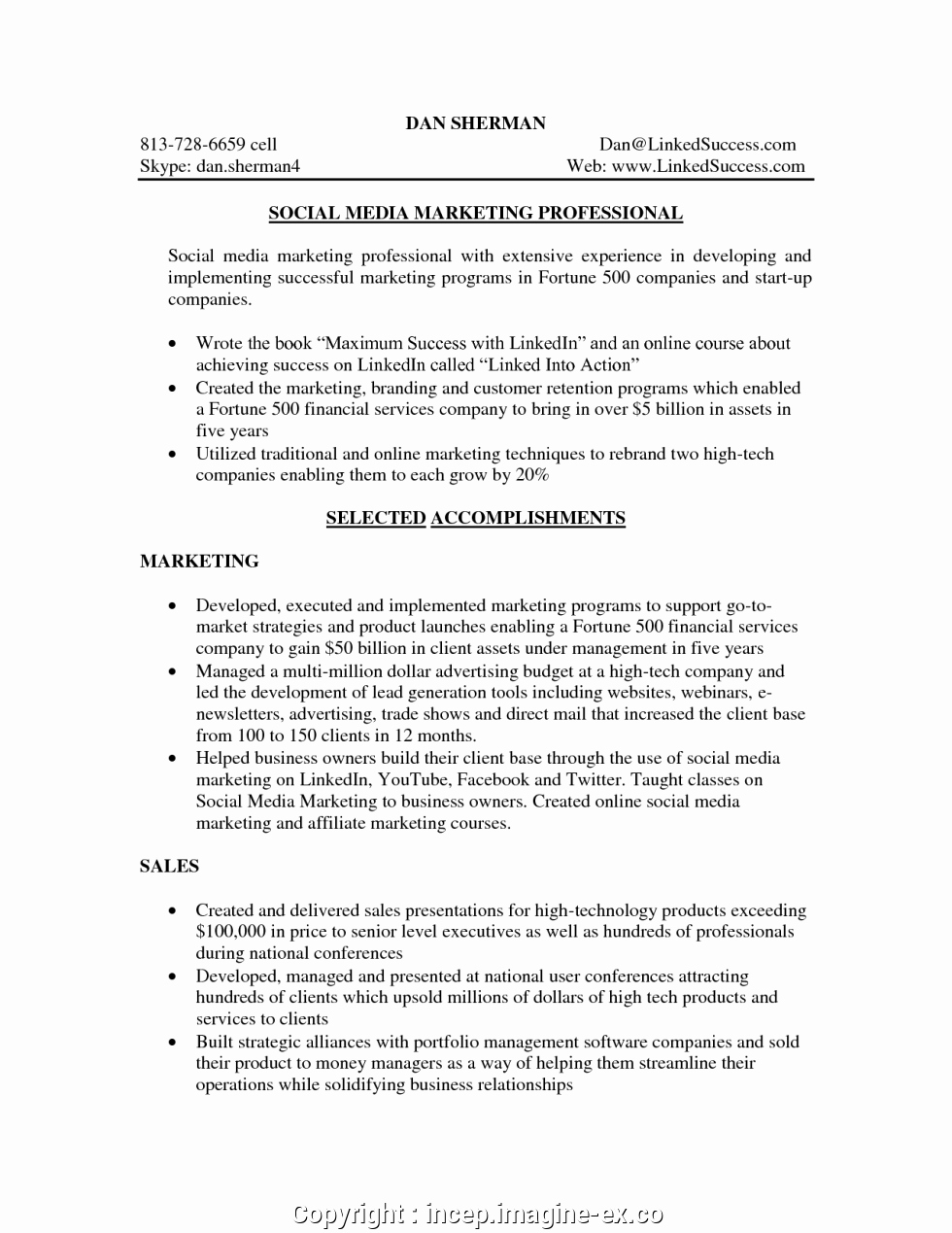 Social Media Manager Resumes Awesome Free social Media Manager Resume Sample Media Manager