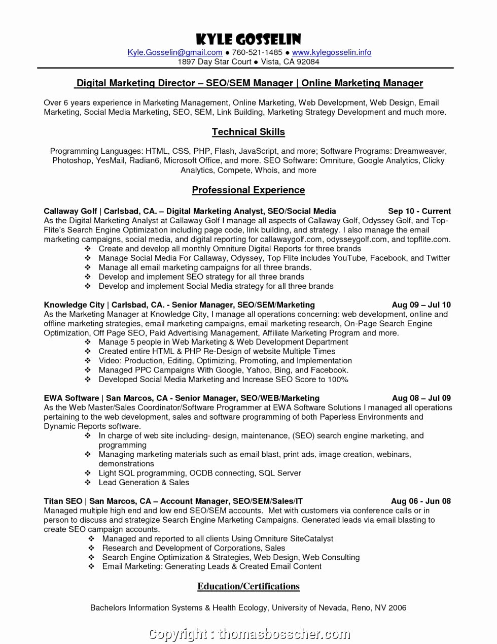 Social Media Manager Resumes Unique Simple social Media Manager Resume Example socialdia