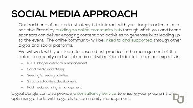 Social Media Proposal Template Inspirational Search Marketing Jobs Nyc social Media Proposal Sample Pdf