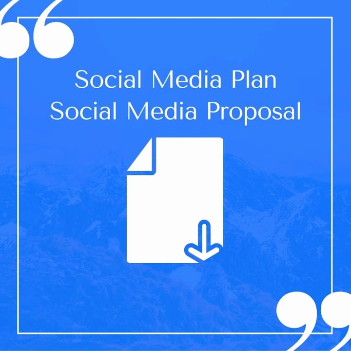 Social Media Proposal Template Lovely Free Pelling social Media Plan Templates to Win Clients
