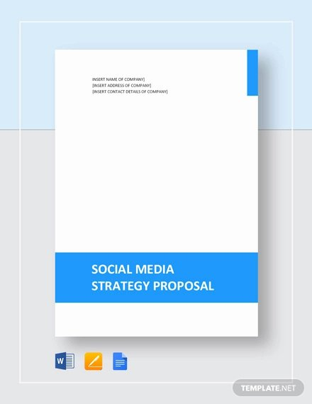 Social Media Proposal Template Luxury 12 social Media Marketing Proposal Examples & Samples