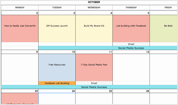 Social Media Proposal Template New How to Create A social Media Calendar A Template for