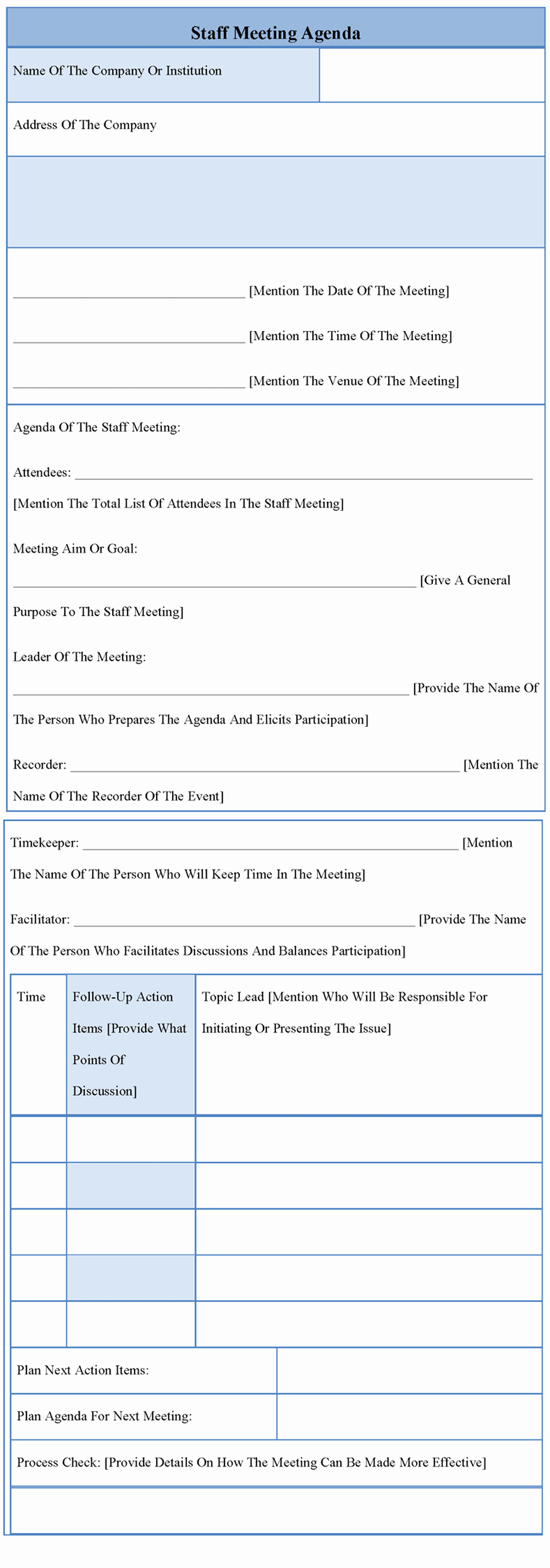 Staff Meetings Agenda Template Lovely Agenda Template for Staff Meeting Example Of Staff