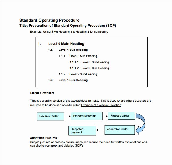 Standard Operating Procedure Sample Pdf Luxury Free 20 Sample sop Templates In Pdf Google Docs