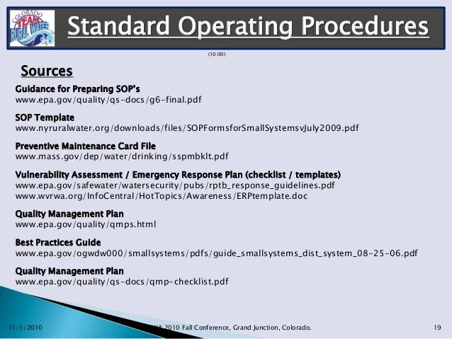 Standard Operation Procedure format Best Of Gerryshisler Standard Operating Procedures