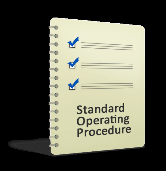 Standard Operation Procedure format Lovely Connectfood Standard Operating Procedure Template