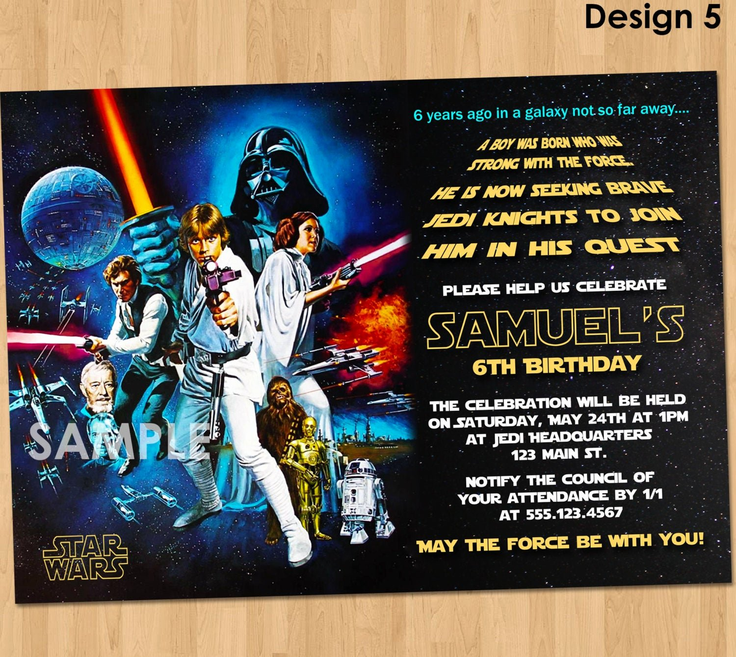 Star Wars Birthday Invitations Best Of Star Wars Birthday Invitation Star Wars Invitation Birthday