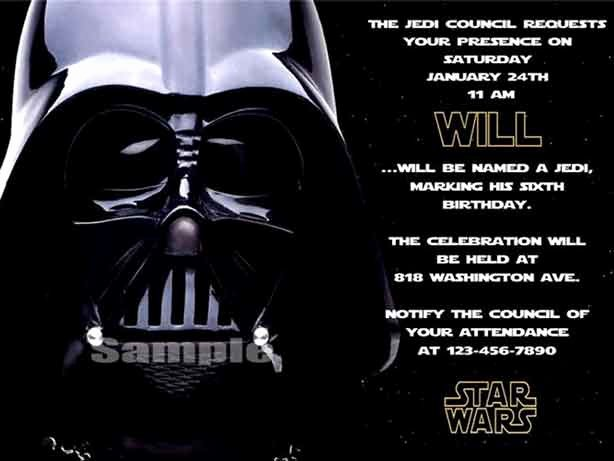 Star Wars Birthday Invitations Inspirational the Best Star Wars Birthday Invitations by A Pro Party