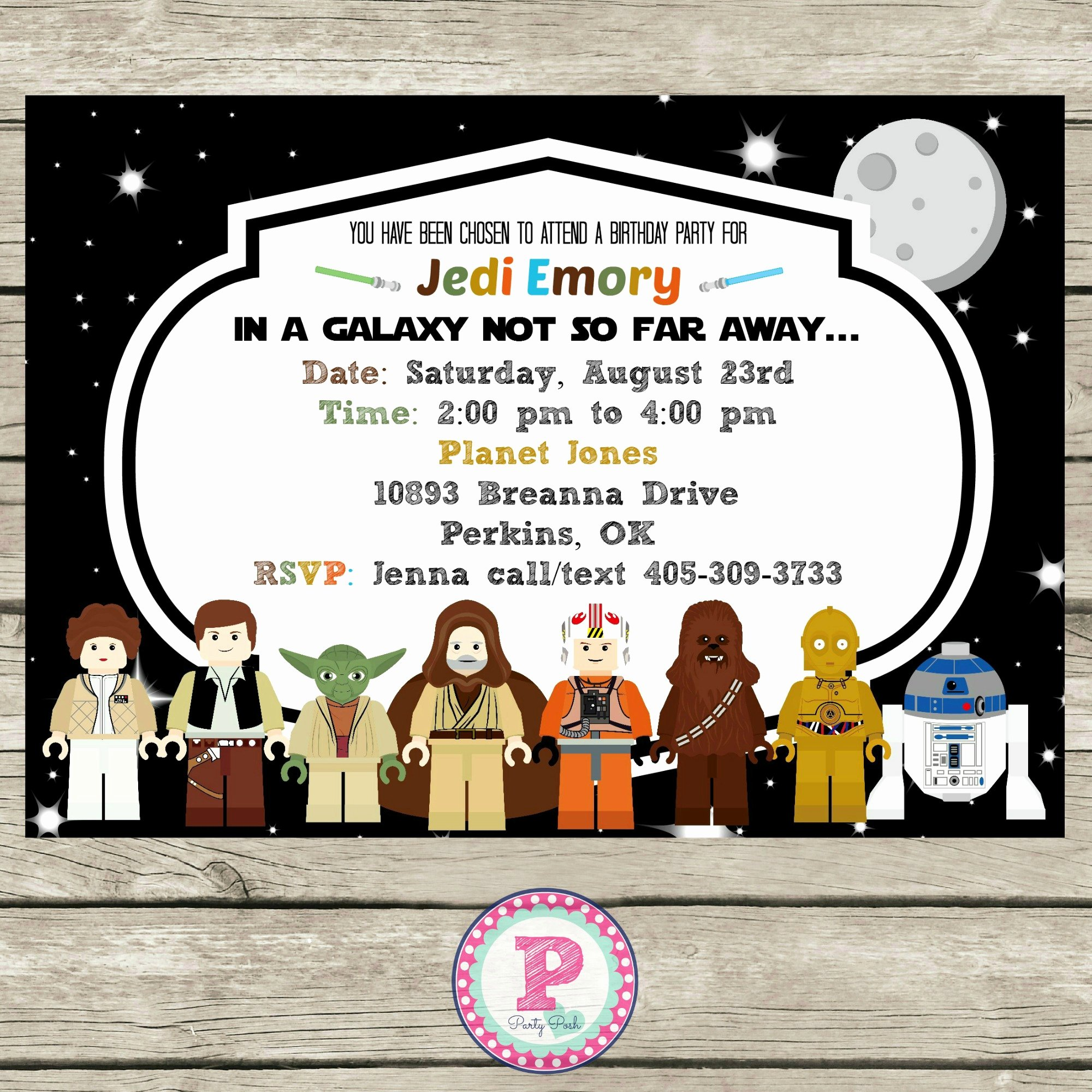 Star Wars Birthday Invitations Luxury Star Wars Lego Birthday Party Ideas Invitations