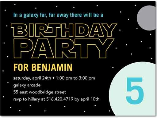 Star Wars Birthday Invitations Luxury the Best Star Wars Birthday Invitations by A Pro Party