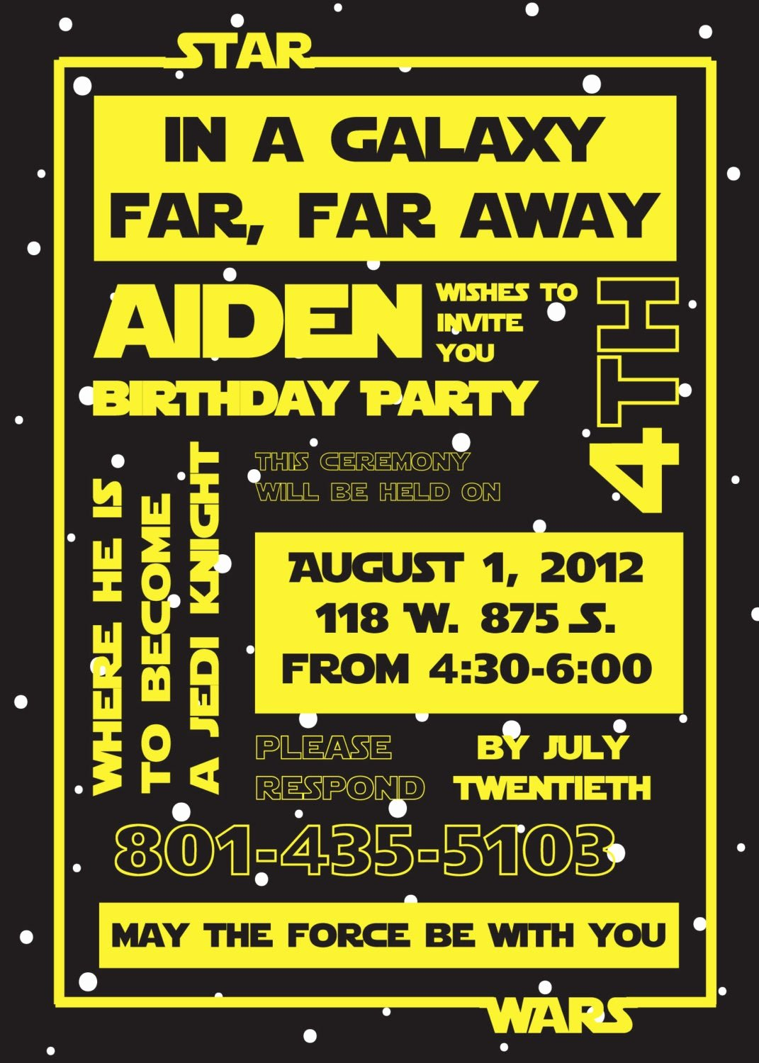 Star Wars Birthday Invitations New Printable Star Wars Invitation and Party Banner by Susieandme