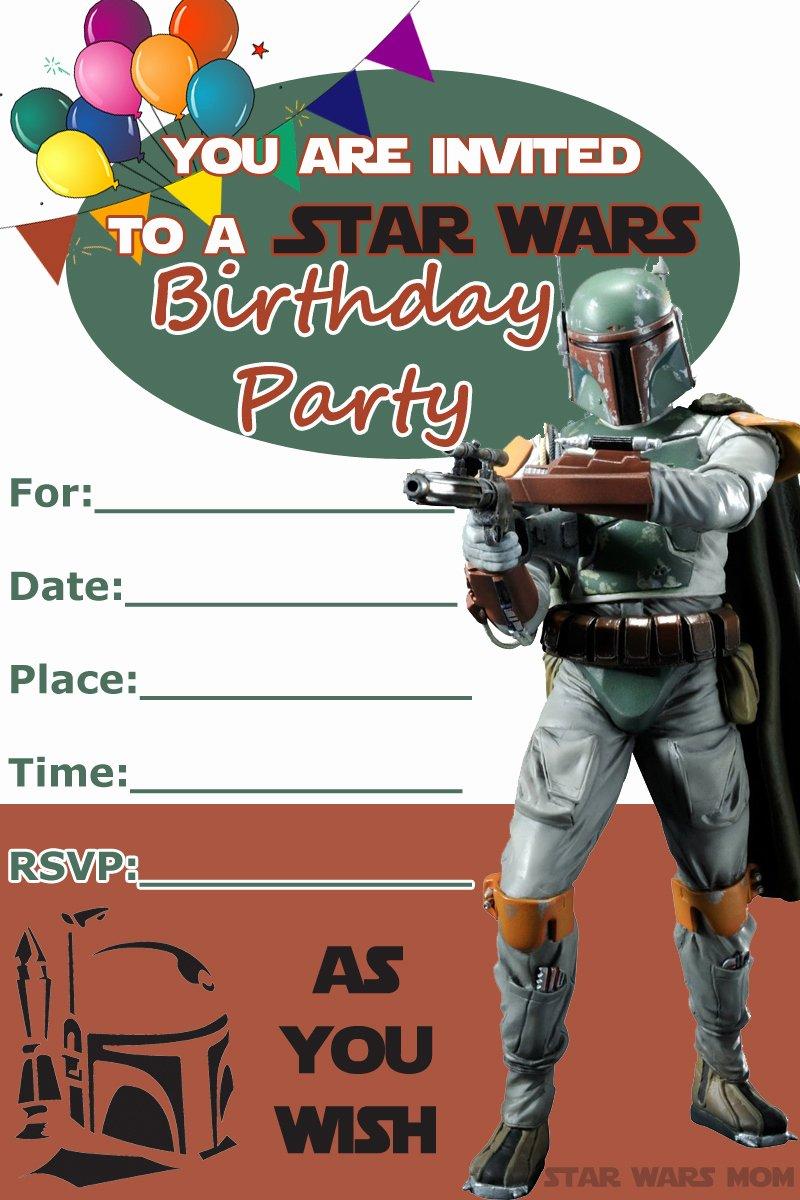Star Wars Invitation Templates Luxury 32 Amazing Star Wars Birthday Invitations