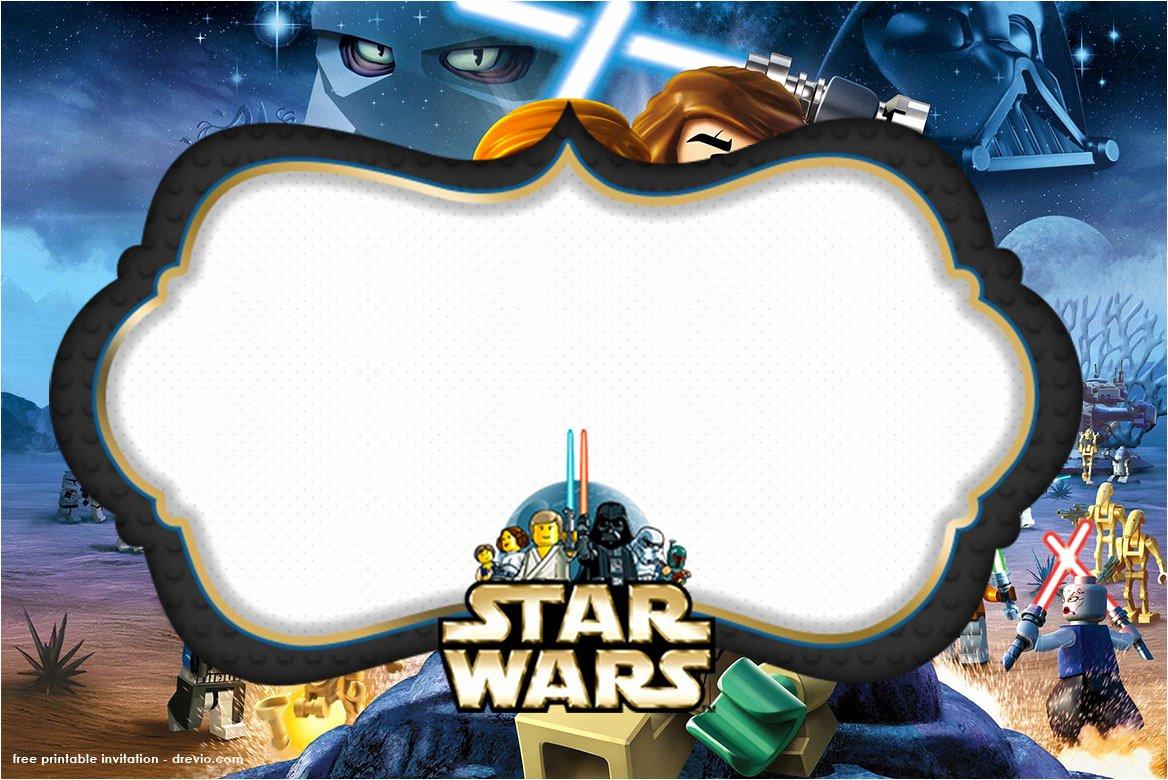 Star Wars Invitation Templates Unique Free Printable Star Wars Birthday Invitations – Template