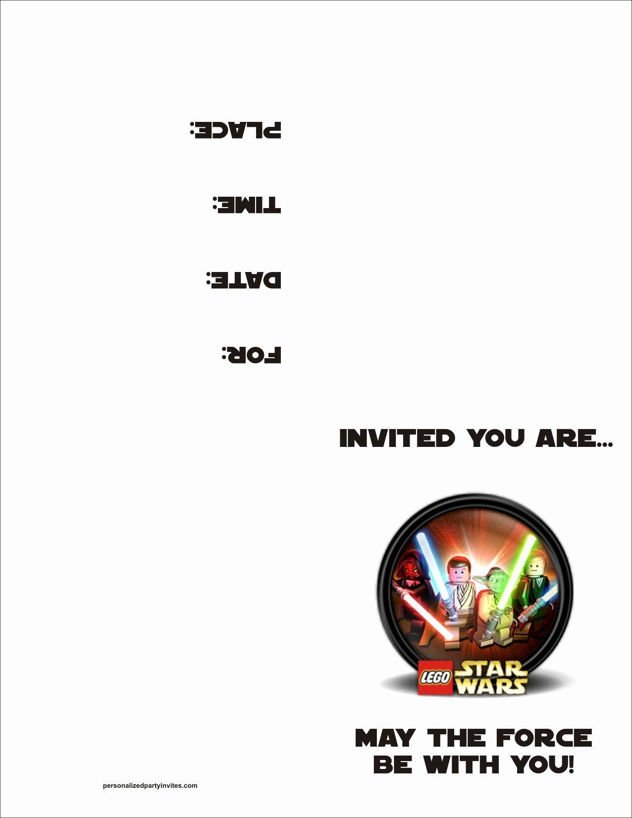 Star Wars Invitations Free Printable Awesome Lego Star Wars Free Printable Birthday Party Invitation