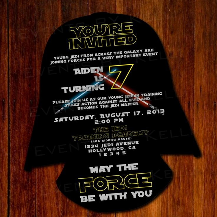 Star Wars Invitations Free Printable Lovely 11 Best Star Wars Party Invitation Images On Pinterest