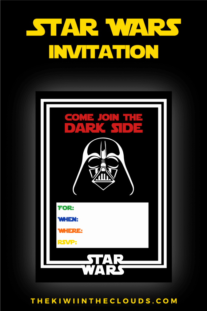 Star Wars Invitations Free Printable Lovely the Best Star Wars Party Ideas Happiness is Homemade