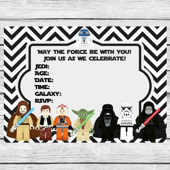Star Wars Invitations Free Printable Luxury 35 Best Images About Fiesta Star Wars Star Wars Party