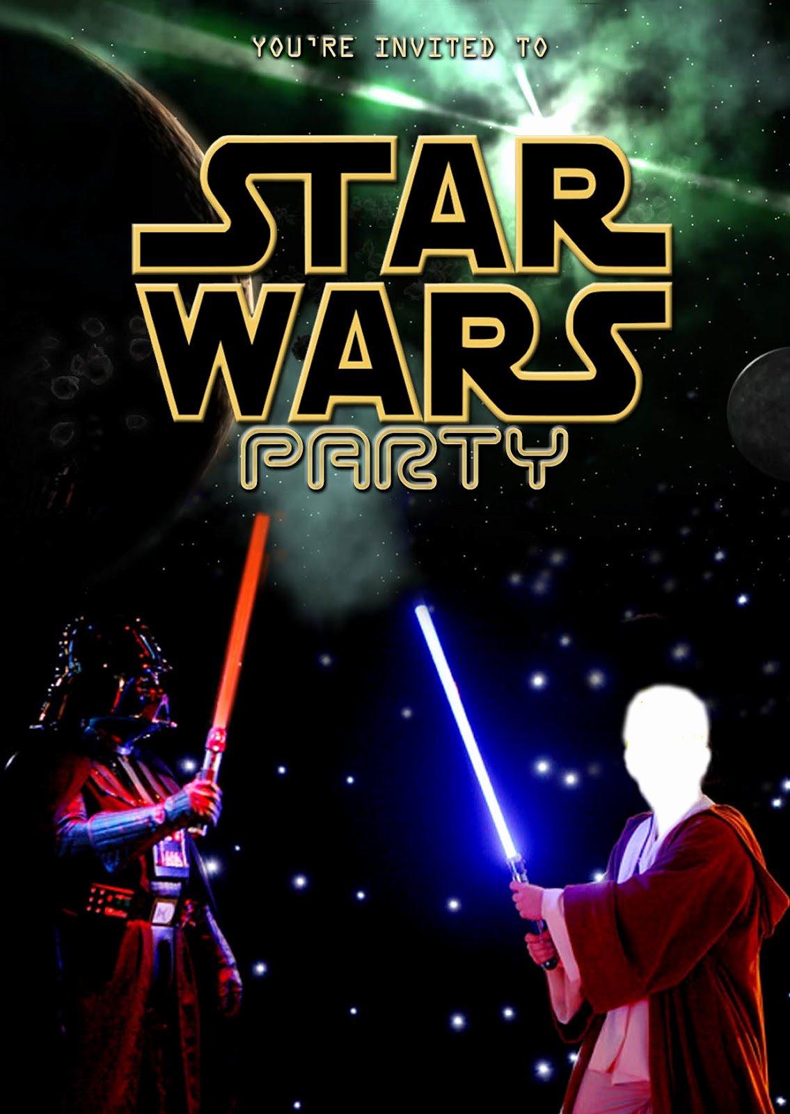 Star Wars Invitations Free Printable Luxury Free Kids Party Invitations Star Wars Party Invitation