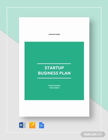 Startup Business Plan Template Pdf Inspirational 13 Startup Business Plan Templates to Foster Your Pany