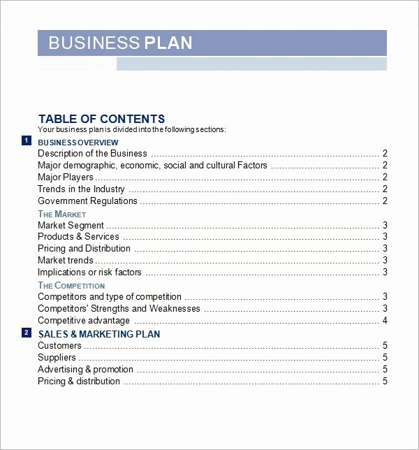 Startup Business Plan Template Pdf Inspirational Bussines Plan Template 17 Download Free Documents In